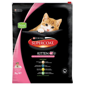 SUPERCOAT CAT KITTEN 8KG