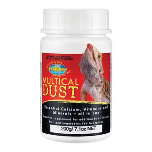 VETAFARM HERPAVET MULTICAL DUST 200G
