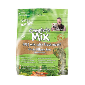 VETS ALL NATURAL COMPLETE MIX GRAIN & GLUTEN FREE 3KG