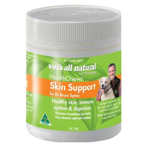 VETS ALL NATURAL HEALTHCHEWS SKIN SUPPORT 270G