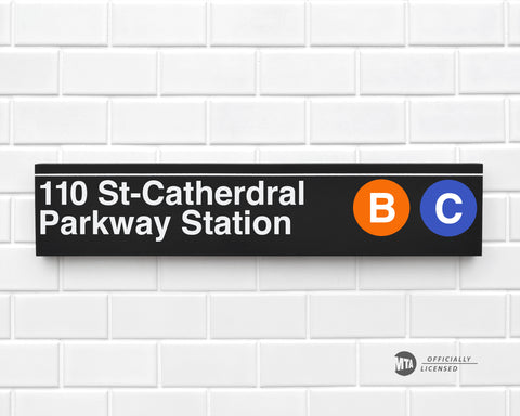 110 St-Cathedral Parkway Station