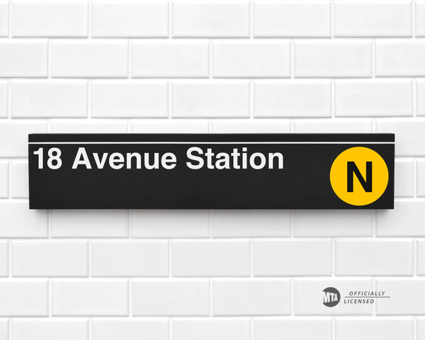 18 Avenue Station