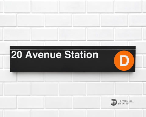 20 Avenue Station