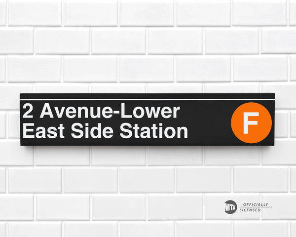 2 Avenue- Lower East Side Station