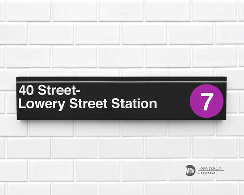 40 Street- Lowery Street Station