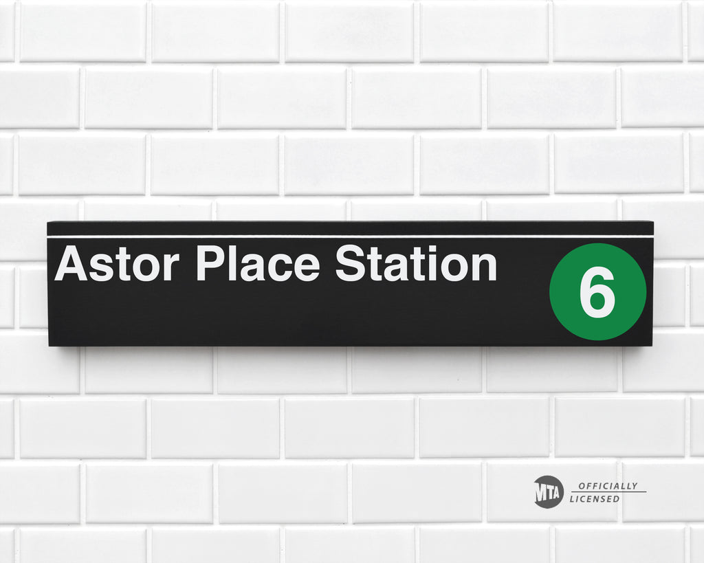 Astor Place Station