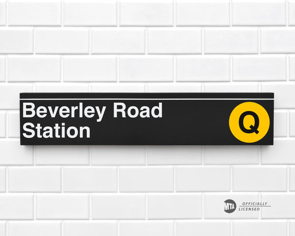 Beverley Road Station