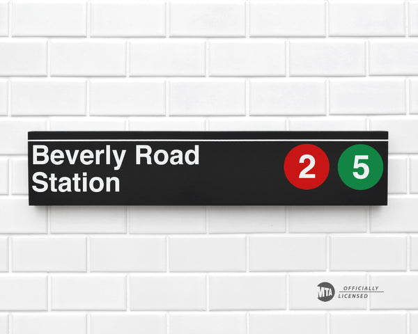 Beverly Road Station