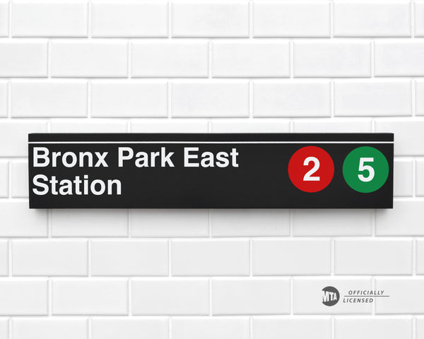 Bronx Park East Station