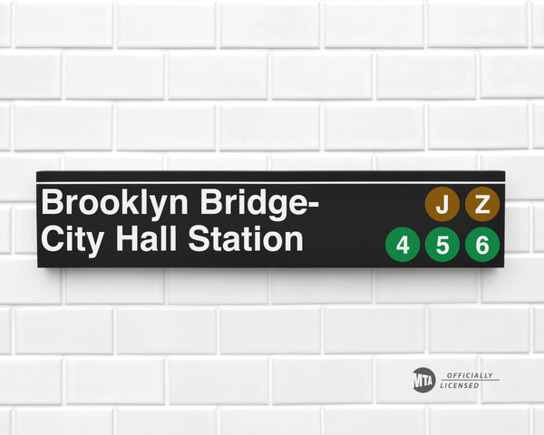 Brooklyn Bridge- City Hall Station