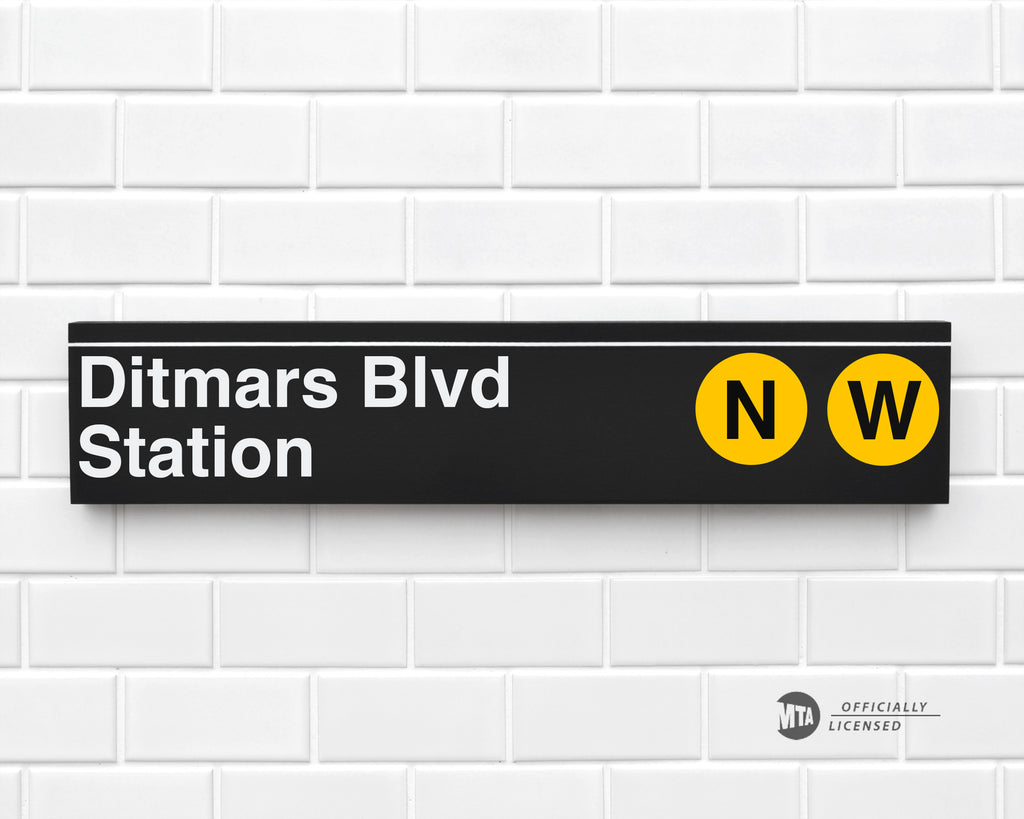 Ditmars Blvd Station