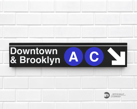 Downtown & Brooklyn A-C Trains