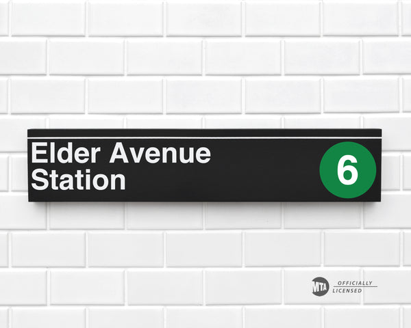 Elder Avenue Station