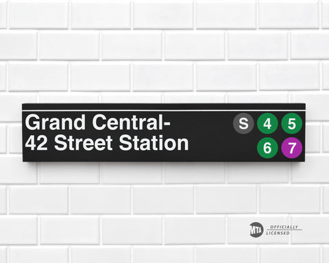 Grand Central- 42 Street Station