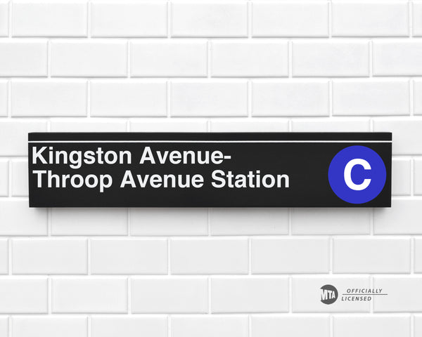 Kingston Avenue-Throop Avenue Station