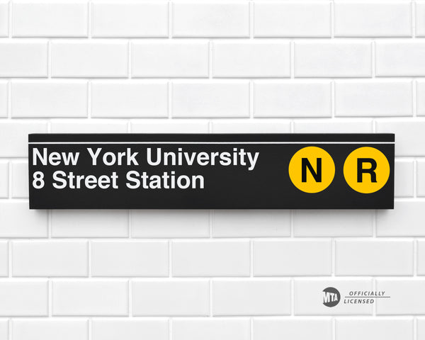 New York University 8 Street Station