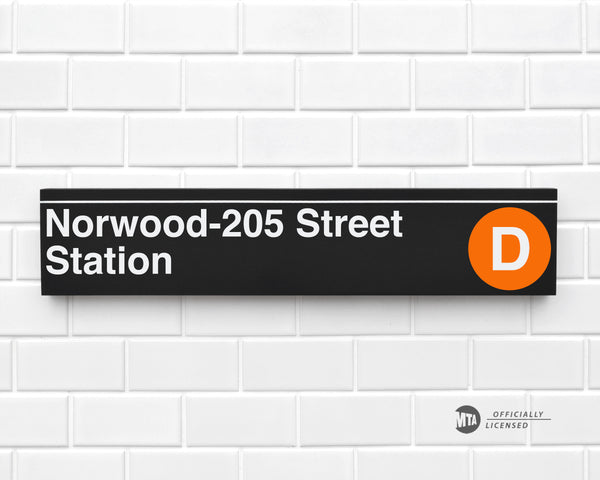 Norwood-205 Street Station