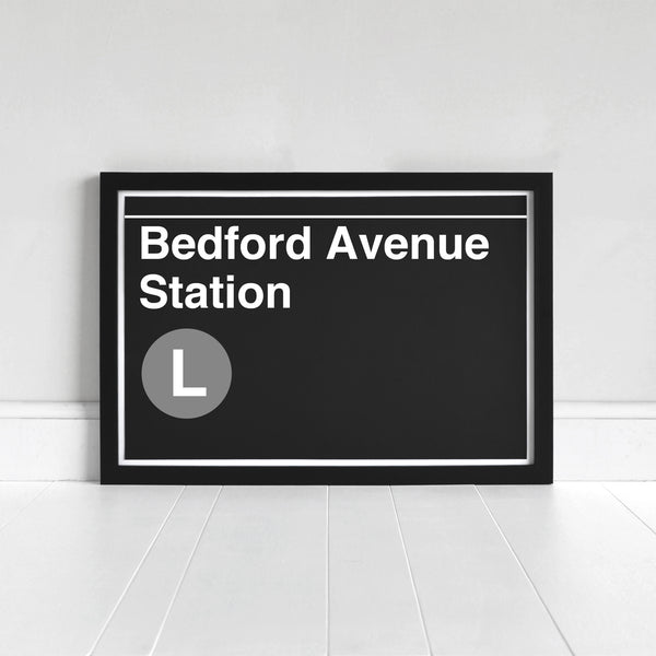 Bedford Avenue Station - Print
