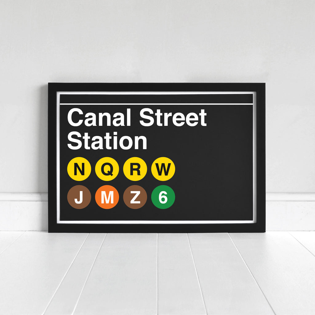 Canal Street Station - Print