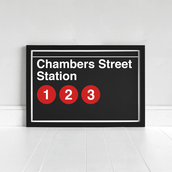 Chambers Street Station - Print