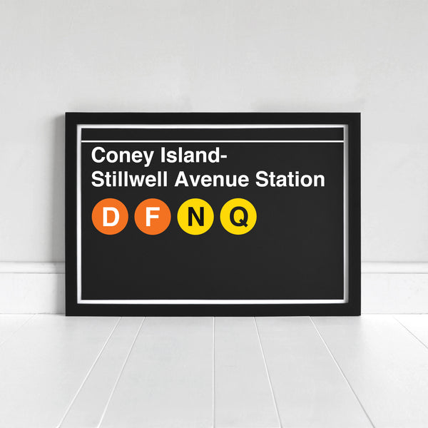 Coney Island- Stillwell Avenue Station - Print