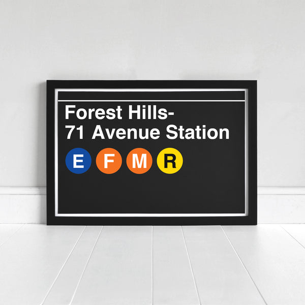 Forest Hills- 71 Avenue Station - Print