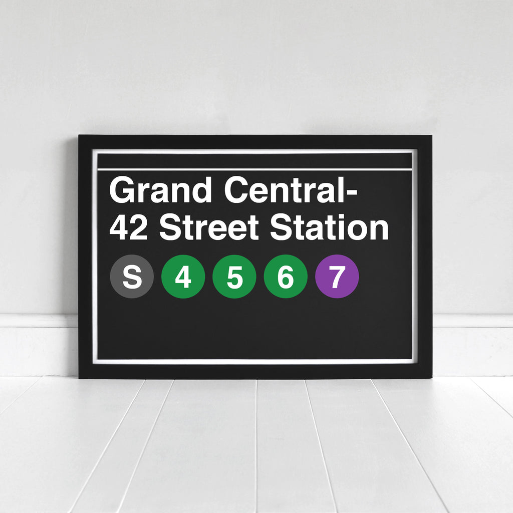 Grand Central- 42 Street Station - Print