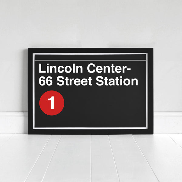 Lincoln Center- 66 Street Station - Print