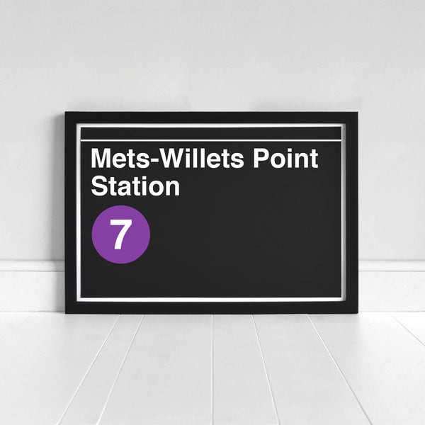 Mets-Willets Point Station - Print