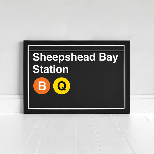 Sheepshead Bay Station - Print