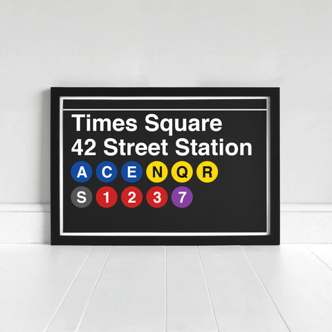 Times Square 42 Street Station - Print