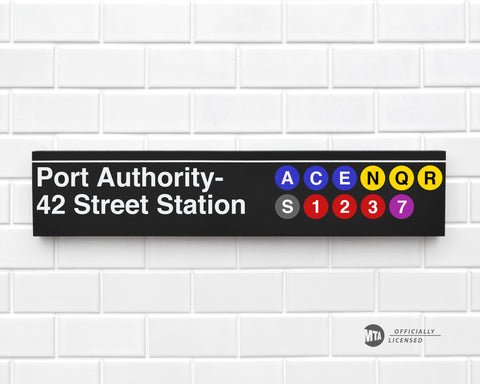 Port Authority- 42 Street Station
