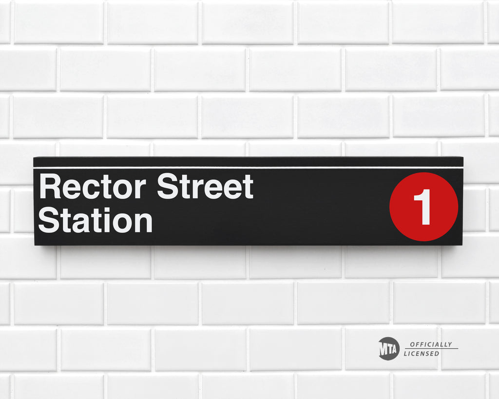 Rector Street Station