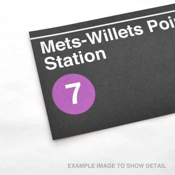 Willets Point- Shea Stadium Station - Print