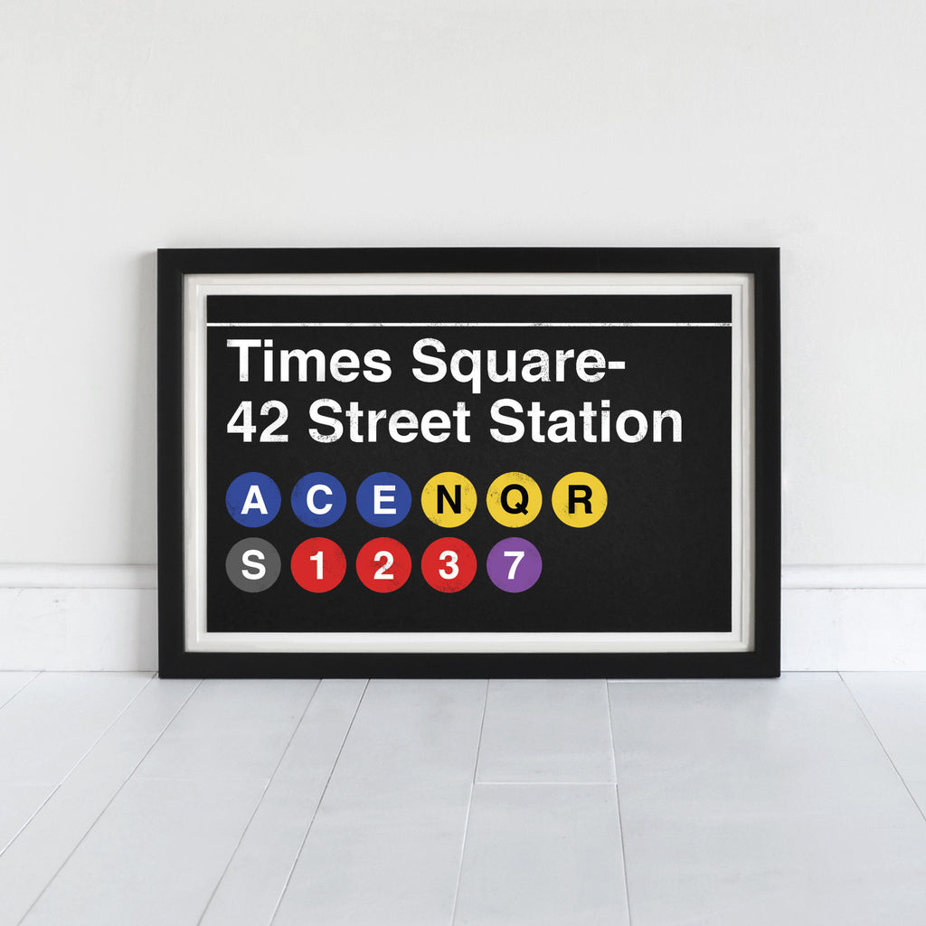 Times Square- 42 Street Station - Art Print