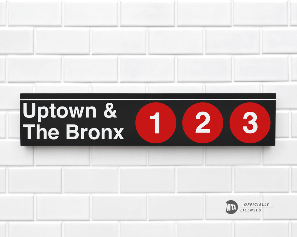Uptown & The Bronx 1-2-3 Trains
