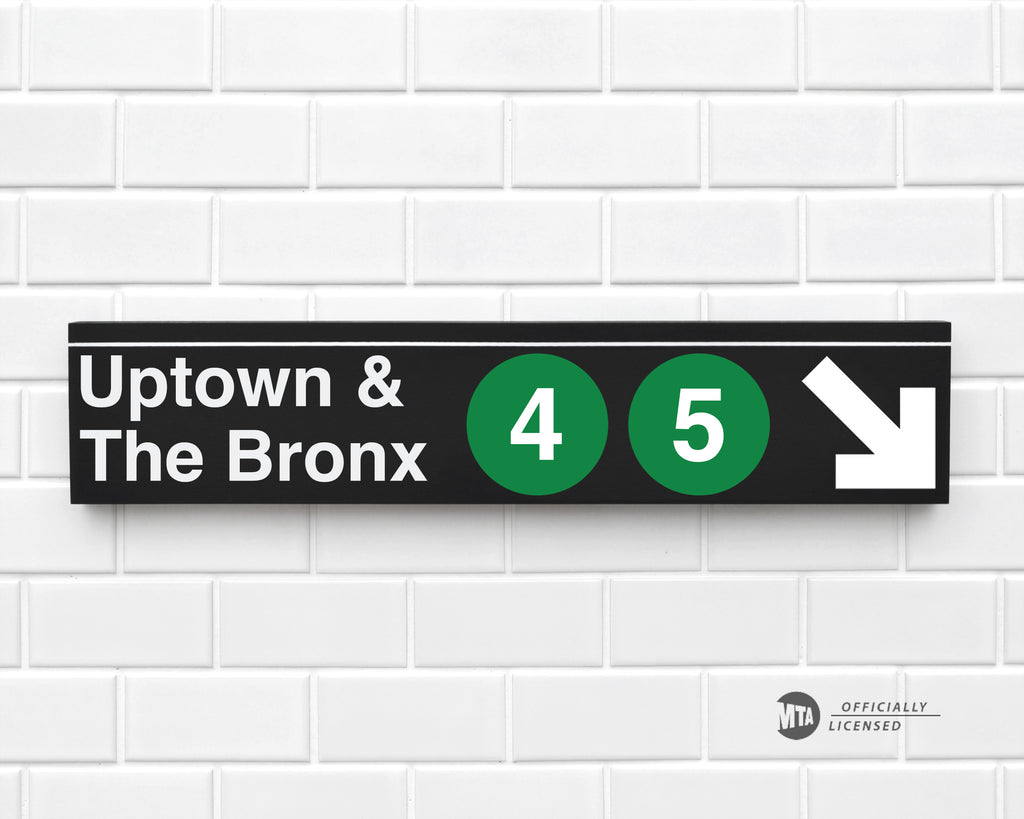 Uptown & The Bronx 4-5 Trains