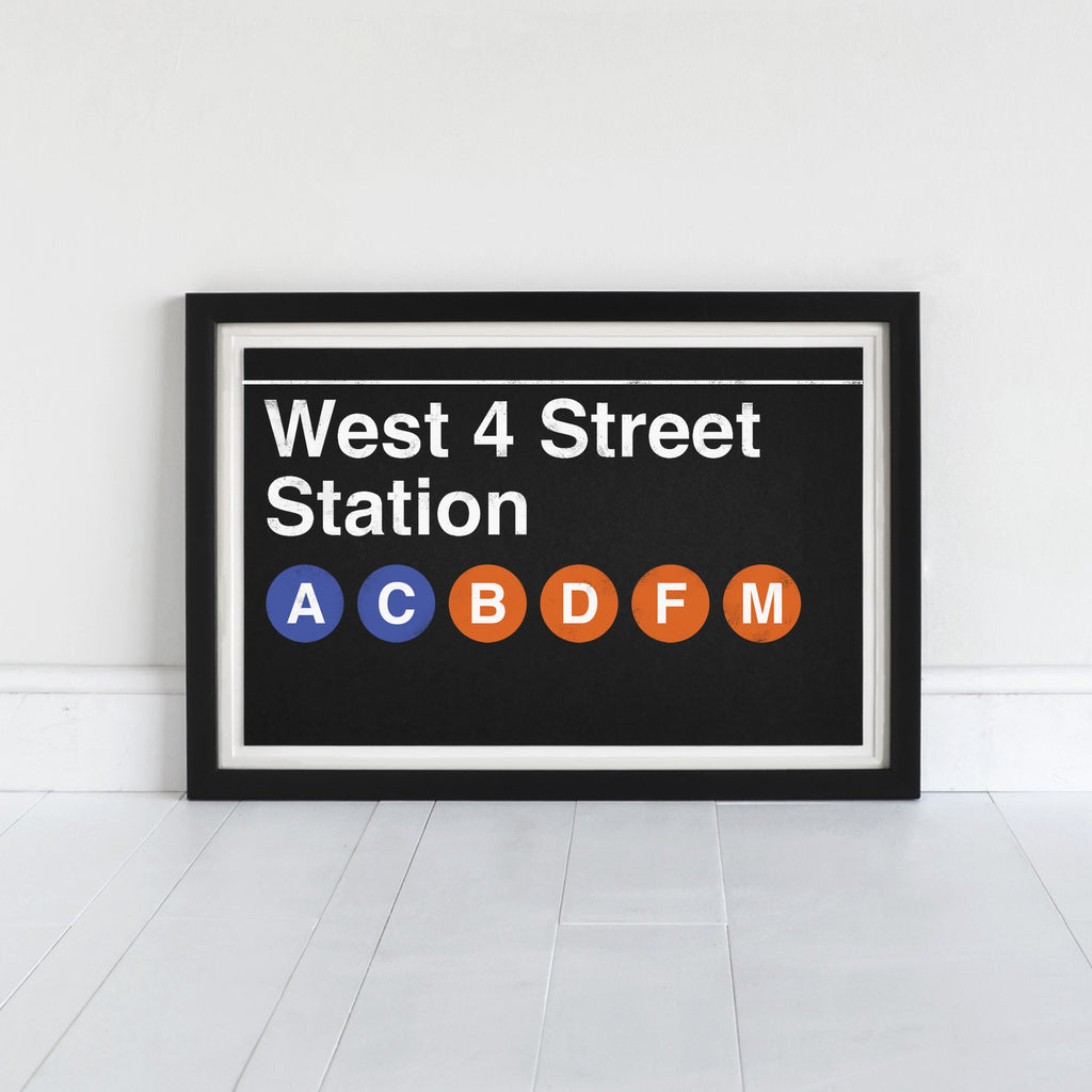 West 4 Street Station - Art Print