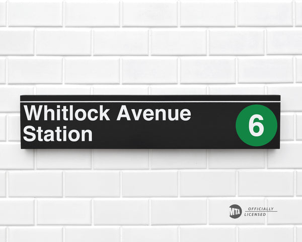 Whitlock Avenue Station