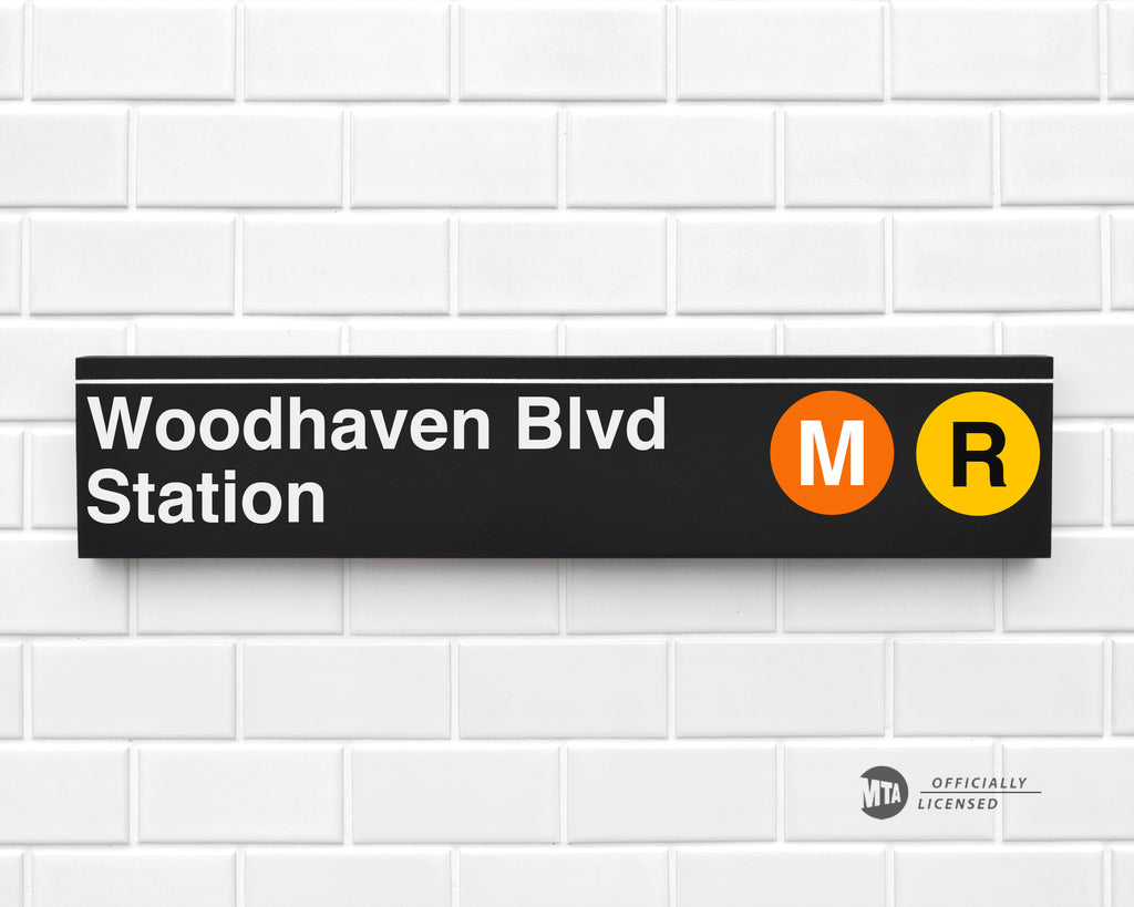 Woodhaven Blvd Station