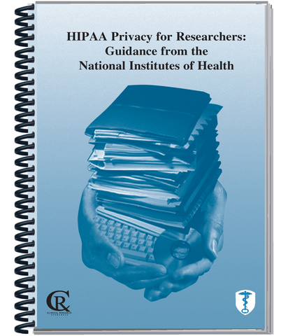 PRE-ORDER Book 5B:  2021 HIPAA Privacy for Researchers: Guidance from the NIH