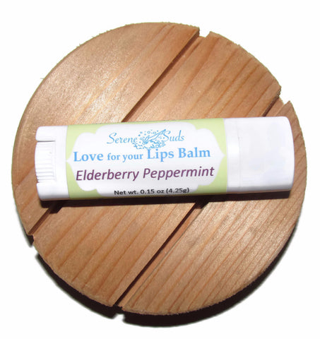 Love for your Lips Balm - Elderberry Peppermint