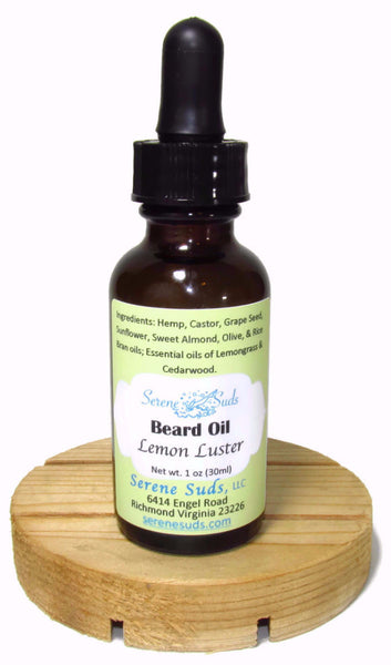 Beard Oil - Lemon Luster