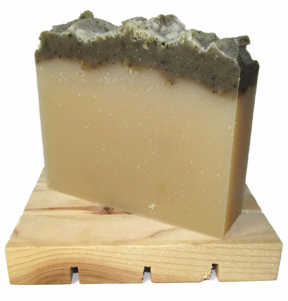 "alt = ""rosemary peppermint shampoo bar soap silky natural"""