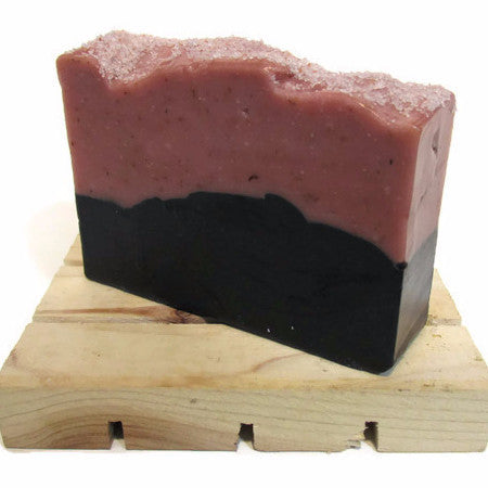 Cracklin' Rosie - Charcoal & Rose Clay Soap