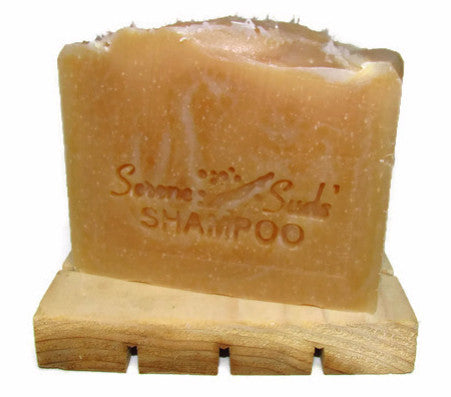"alt = ""hemp & honey shampoo bar no nut oils moisturizing"""