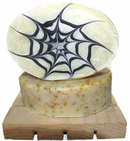 A Spider's Web - Scrubby Natural Artisan Soap