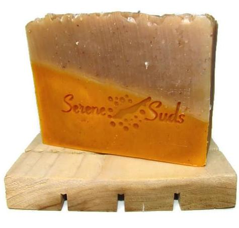 'Two'meric - Turmeric and Honey, Oats, & Beeswax Soap