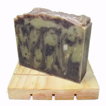 "alt = ""natural lavender patchouli soap Spanish moisturizing green clay alkanet"""