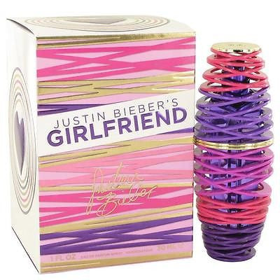Girlfriend by Justin Beiber - Eau De Pafum Spray 1 oz